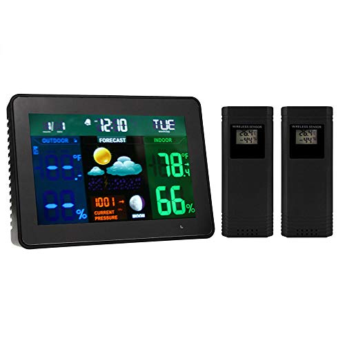Learn More About YHML Temperature and Humidity Meter Indoor and Outdoor Temperature and Humidity Met...