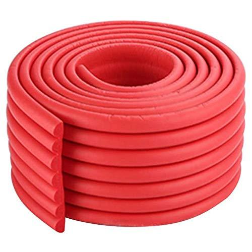 Traciya 2M - Protectores de protección para esquinas y esquinas de seguridad para niños, adhesivo avanzado para un agarre firme, protectores de esquina de mesa extra gruesos