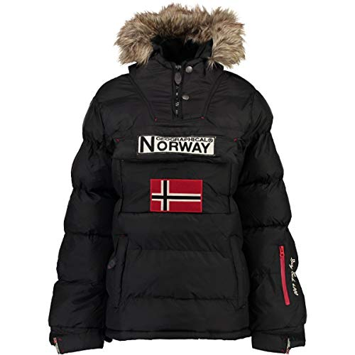 Geographical Norway Chaqueta Mujer Anson Negro L