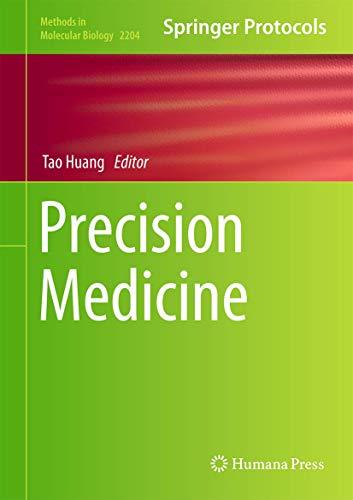 Precision Medicine (Methods in Molecular Biology (2204), Band 2204)