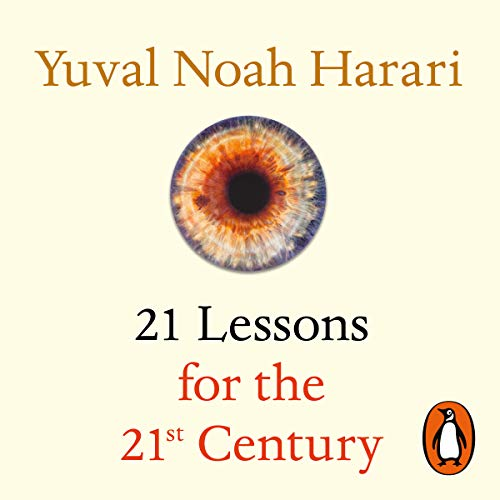 『21 Lessons for the 21st Century』のカバーアート