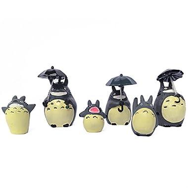 OLSUS DIY Garden Decoration Totoro Series Potted Gardening Dolls (6 PCS)