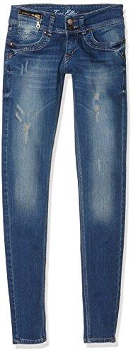 Toni Ellen Damen Blue Stoned Style Jeanshose, Blau), W29/L30 (Herstellergröße: 38/L30)