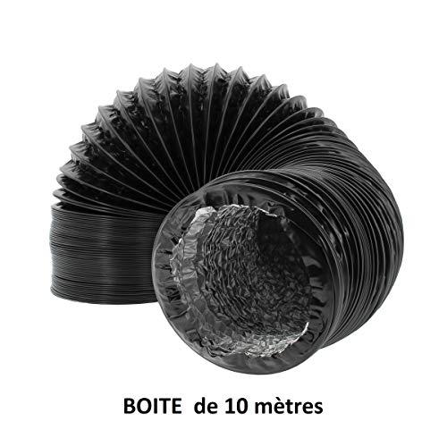 FLORATECK - Gaine combi PVC/ALU - Ø 102mm - 10 mètres