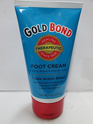 Gold Bond Foot Cream Triple Action 120 ml (Case of 6) by Gold Bond