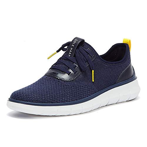Cole Haan mens Generation Zerogrand Stitchlite Sneaker, Marine Blue Knit, 10 US