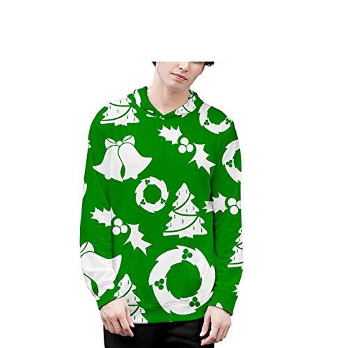 Mr.BaoLong&Miss.GO Otoño E Invierno Ropa para Padres E Hijos Niños Amantes De La Ropa Navideña Ropa Navideña Suéter Navideño Sudaderas con Capucha