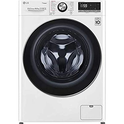 LG F4V710WTS 10.5kg 1400rpm Freestanding Washing Machine - White