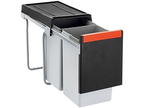 FRANKE Sorter Cube 30 / Handauszug Abfalltrennsystem / 1 x 10 l, 1 x 20 l Behälter / 134.0039.554