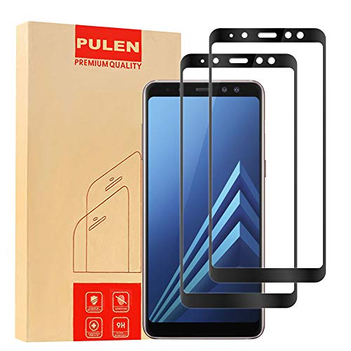 slim and 9h hardness screen protector for galaxy a8+ 2018