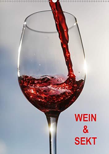 Wein und Sekt (Wandkalender 2021 DIN A2 hoch)
