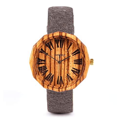 Holzuhr Damen Von Ovi Watch (Zebrano Holz)