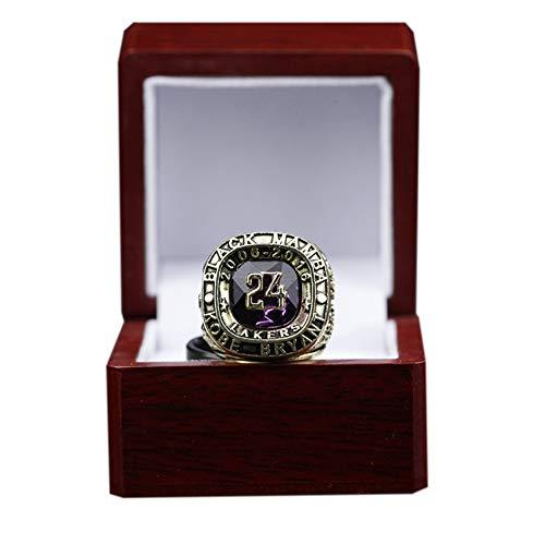 Fei Fei 2006-2016 No. 24 Commemorative Champion Ring Campeonato campeones de Baloncesto Anillo de réplicas de Aficionados colección del Regalo de los Hombres de Recuerdo,with Box,11#
