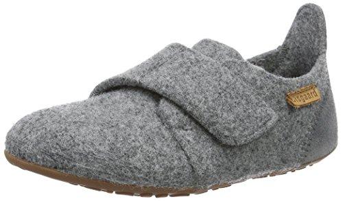 Bisgaard Unisex-Kinder 11203999 Slipper, Grau (70 Grey), 33 EU