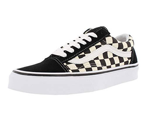 Vans Old Skool Checkerboard, Zapatillas para Mujer, Blk White, 37
