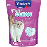 Vitakraft Magic Clean Classic, Perlas de arena para gatos, 3.8 L