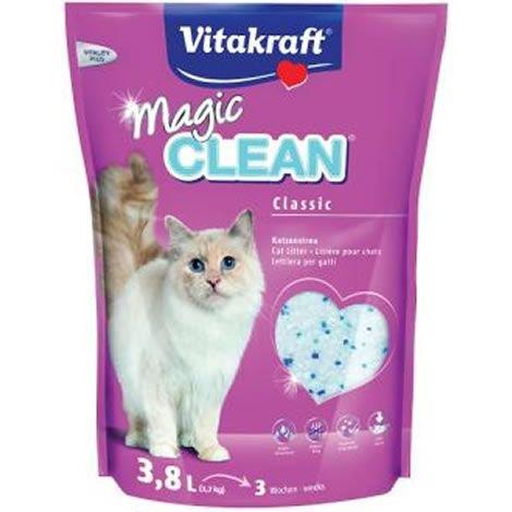 Vitakraft Magic Clean Classic, Perlas de arena para gatos, 3.8 L