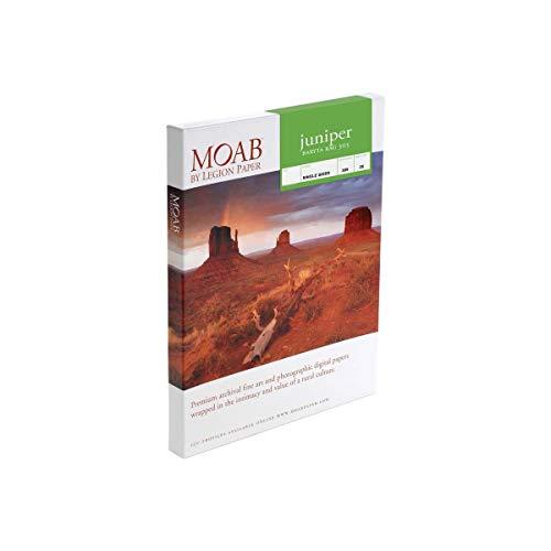 Moab Juniper Baryta Rag Glossy Fine Art Inkjet Druckpapier, 12,7 x 17,8 cm, 305 g/m², 25 Blatt