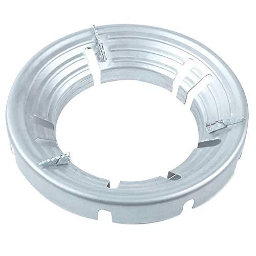Hemoton Estufa de Gas Wok Anillo de Soporte Encimera de Ahorro de Energía Parabrisas Estufa de Aluminio Fierros de Aleación de Hierro Estante Antideslizante Universal para Cocinar