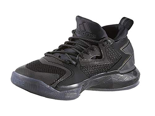 adidas Big Kids D Lillard 2 Basketball Shoe Black