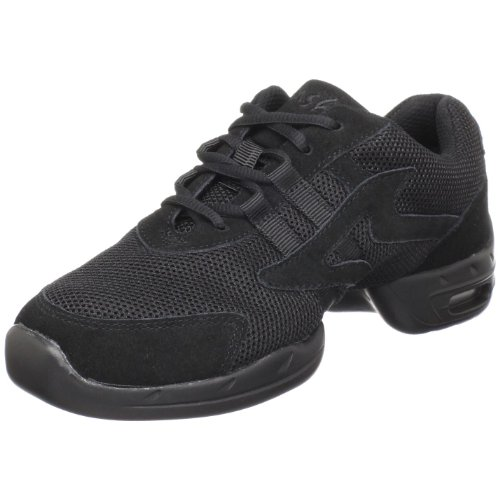 Sansha Motion Dance Sneaker,Black,11 Sansha(9 M US Women's/6 M US Men's)