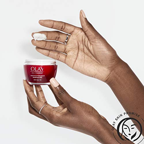 41WKEiYh++L - Olay Regenerist Micro-Sculpting Cream Face Moisturizer with Hyaluronic Acid & Vitamin B3+, Fragrance-Free, 1.7 Oz + Whip Face Moisturizer Travel/Trial Size Bundle
