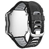 WIIKAI Correa de Reloj de Repuesto, Compatible con Garmin Forerunner 920XT, Correa de Reloj de Silic...