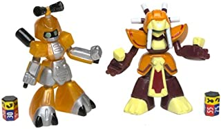 MEDABOTS Robattle - KBT 11220 Metabee vs. KLN 111214 Warbandit