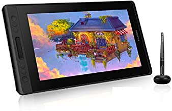 HUION Kamvas Pro 13 GT-133 Graphic Drawing Monitor 13.3 inch IPS Pen Display with Battery-Free Stylus, Full-Laminated Screen, 120% sRGB, Works with Chromebook