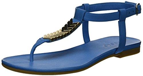 Inuovo Damen 7132 Zehentrenner, Blau (Jeans), 41 EU