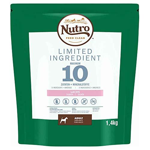 NUTRO Pienso Limited Ingredient Diet Adulto Razas Medianas Salmón 🔥