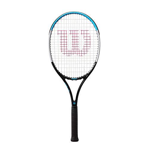 Wilson Tennisschläger Ultra Power 26, Für Kinder und Jugendliche ab 11 Jahren, Graphit/Aluminium/Fiberglas, Blau/Grau/Schwarz, WR055710U