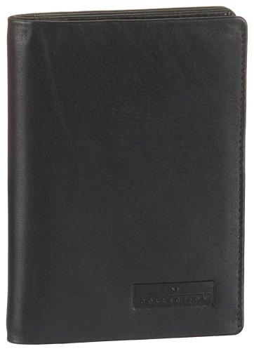 Maitre Damen Melmak Aro V6 Ausweis-& Kartenhüllen, Schwarz (black 900), 9x12x1 cm
