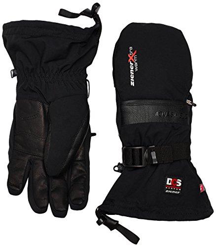 Ziener Erwachsene GALLIN AS PR DCS alpine Ski-Handschuhe / Wintersport | wasserdicht, atmungsaktiv, sehr warm, schwarz (black), 9
