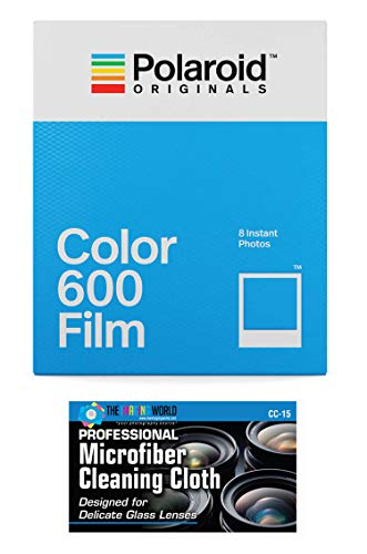 Impossible/Polaroid Instant Color Film for Polaroid 600 Cameras - 1 Pack