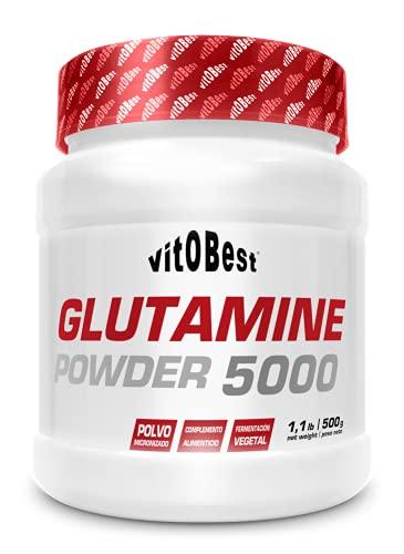 GLUTAMINE 5000-500 g - Suplementos Alimentación y Suplementos Deportivos - Vitobest