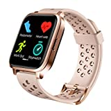liceyoo Smart Watch, Fitness Watch Heart Rate Monitor Watch, Smart Watches for Men Women, Fitness Tracker Calorie Counter Watch, Smart Watch for Android Phones, Sleep Tracker Smartwatch