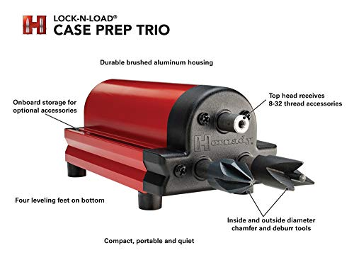 Hornady 050160 Lock-N-Load Case Prep Trio