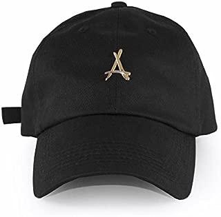 アルムナイクロージング tha alumni clothing ボールキャップ 24K BLACK DAD HAT [並行輸入品]