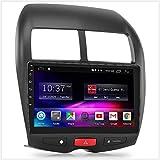 TUNEZ® 10 'Zoll Android Car Player Kompatibel mit 4008 Citroen C4 Aircross XA XB Mitsubishi ASX 3. Generation 2010-2014 Stereoradio GPS MP4 FHD MirrorLink-Blendenkit (Rockford Fosgate)