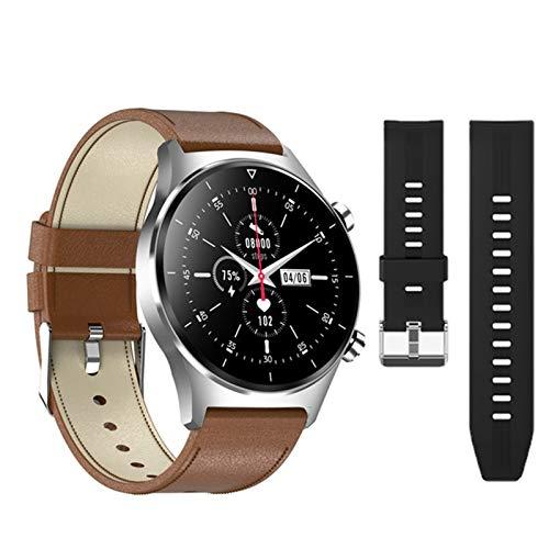 YDK El Último Reloj Inteligente para iOS Android Sports Sportwatch Smartwatch GPS Soporte Pedómetro Pantalla Redonda Bluetooth Watch Watch Sports Watch,G