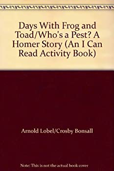 Paperback Days With Frog and Toad/Who's a Pest? A Homer Story (An I Can Read Activity Book) Book