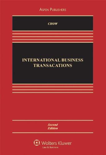 International Business Transactions 2e