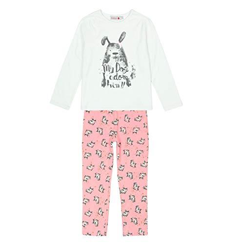 Pijama Interlock de niña - Talla - 3