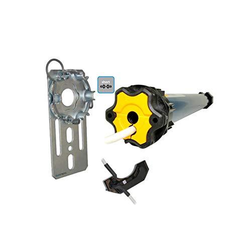 Nachrüstset zum Modernisieren von Gurt/Kurbel auf Somfy Kurz-Rollladenmotor Ilmo 50 S WT 6/17 (bis 2,6 m²) + Fertigkastenlager