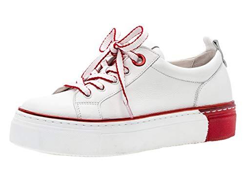 Gabor dames Skater Sneaker 23.370, vrouwen sportschoen, halve schoen, Plateauzool