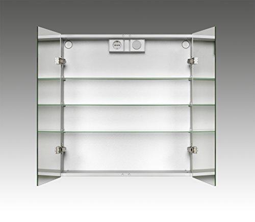 Jokey Spiegelschrank LyndALU aluminium