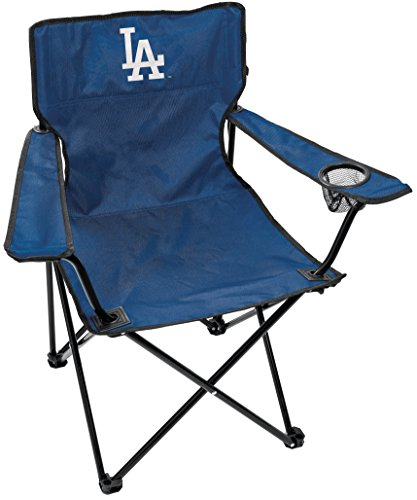 Rawlings MLB Gameday Elite Lightweight Folding Tailgating Chair, with Carrying Case, Los Angeles Dodgers