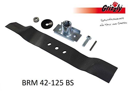 Grizzly Ersatzmesser für Benzin Rasenmäher BRM 42-125 BS