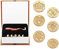 Wax seal stamp set